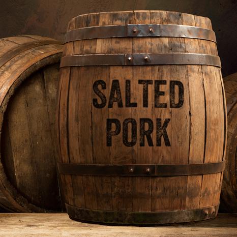 Atlantic Meats Salted Pork