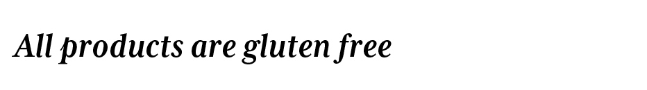 Atlantic Meats-All products are gluten free